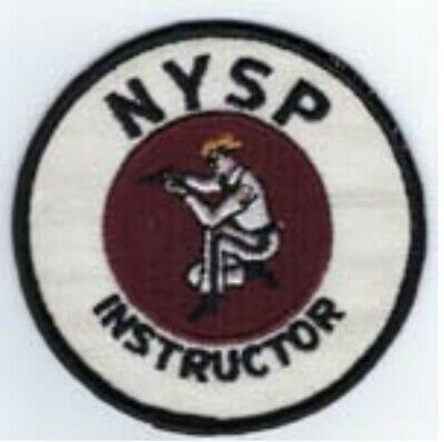 £7.03 • Buy New York State Police Instructor Patch.