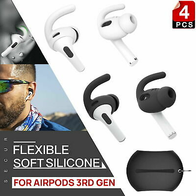AU12.99 • Buy For Apple AirPods Pro Ear Tips + Case Earpod Cover Silicone Ear Hook Earbuds