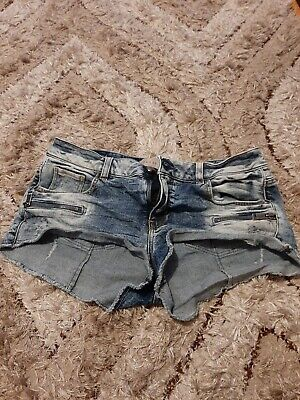 £4.35 • Buy Guess Stretch Denim Shorts Size 30