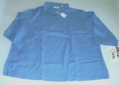 $15.99 • Buy NEW Scrubs ~ Long Sleeve Pull Over Scrub Top ~ SMALL ~ Ceil Blue