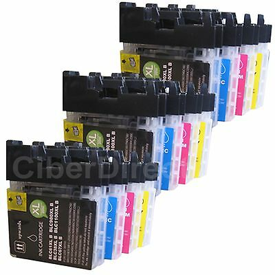 £14.64 • Buy 12 Ink Cartridges For BROTHER DCP-6690CW / DCP-6690CW