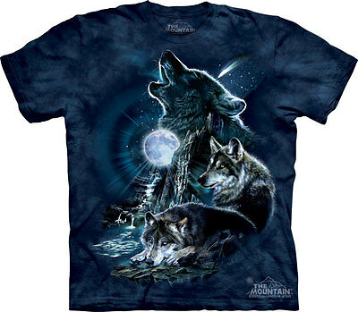 £24.99 • Buy BARK AT THE MOON Wolves The Mountain T Shirt Unisex