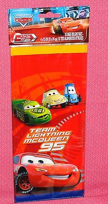 Cars,Lightening McQueen,Party/Treat Bags,Wilton,Red,4x9,16ct1912-6405,Piston Cup • 3.55£