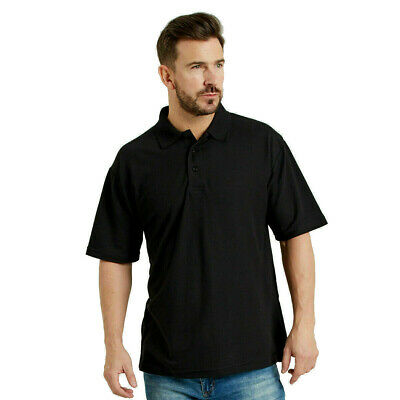 £6.95 • Buy Ultimate Everyday Apparel Work Polo Shirt Top Collar Knit Triple Stitch (UCC003)
