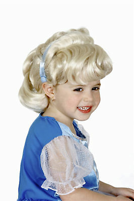 Disney Cinderella Princess Girls Child Costume Wig New • 13.02£