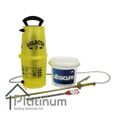 £87.40 • Buy Ultracure Damp Proof Cream Kit (1 X 3L Kit) | DPC Course Injection Treatment