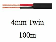 AU149 • Buy TYCAB 4mm Twin Core Sheathed 100 Metre Automotive Cable 15 Amp Car Truck Trailer