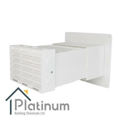£98.80 • Buy Passyfier 230 WHITE | Sleeved Dehumidifier Vent Wall Kit | Condensation Control
