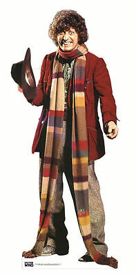 £38.99 • Buy TOM BAKER Doctor Who LIFESIZE CARDBOARD CUTOUT STANDEE STANDUP 4th Fourth Dr Doc