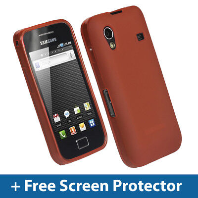 £2.19 • Buy Red TPU Gel Case For Samsung Galaxy Ace S5830 Android Mobile Skin Cover Holder