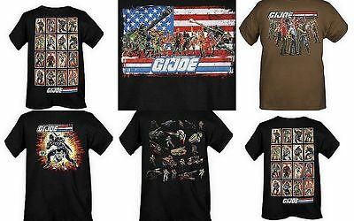 $ CDN12.56 • Buy GI Joe Mens T Shirt Vintage Tee 6 Different Styles NEW