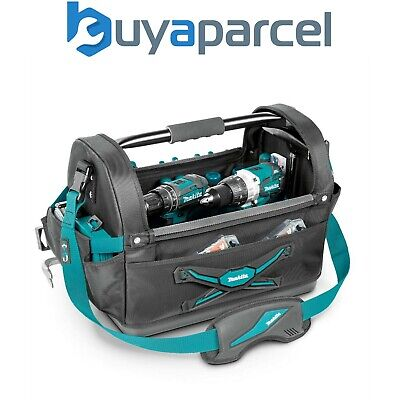 Makita E-05430 Large Open Tote Bag 18  Hand Power Tool Toolbag Strap System • 50.43£