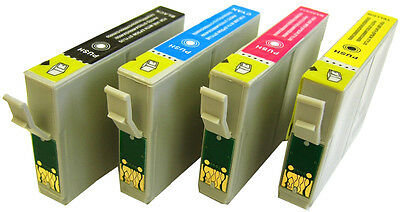 £8.99 • Buy 2 Sets [any 8] Non-oem Printer Ink Cartridges For Epson Stylus Dx7450 / Dx 7450