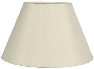 £7.98 • Buy 9  12  14  Cotton Coolie Table Lamp Shade Ceiling Light Pendant Lampshade CREAM