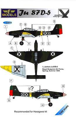 $13.99 • Buy LF Models Decals 1/48 JUNKERS Ju-87D-5 STUKA Royal Bulgarian Air Force