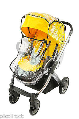 RAINCOVER Fits  I'COO BABY UNIVERSAL PRAM CARRY COT & Seat Unit Buggy Rain Cover • 9.95£