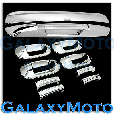 $89.95 • Buy 03-12 Ford Expedition Chrome 4 Door Handle+Top+Lower Liftgate Tailgate Cover