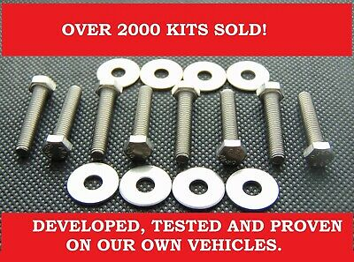 $6.39 • Buy FORD 4.6 & 5.4 LITER COIL PACK STAINLESS STEEL BOLT / SCREW KIT. Over 2000 SOLD!