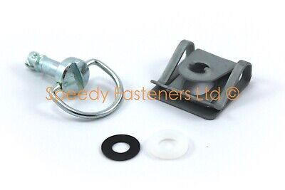 AU6.25 • Buy Original Dzus Quick Release 19mm Fairing Panel Fasteners Bolts Clips Washers Kit