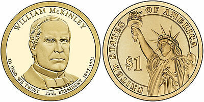 $3.49 • Buy 2013-D  William McKinley  PRESIDENTIAL DOLLAR COIN