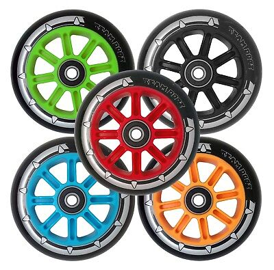 £14.95 • Buy Nylon Core Scooter Pro Wheels X 2 88A PU Rubber Compatible With JD Bug MGP Slamm