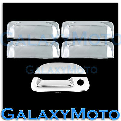 $62.50 • Buy 01-05 Ford Explorer Sport Trac Triple Chrome Plated 4 Door Handle+Tailgate Cover