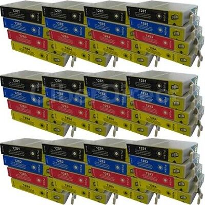 £54.72 • Buy 48 CiberDirect T1281 T1282 T1283 T1284 Ink Cartridges To Fit Epson Printers