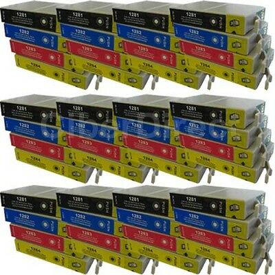 48 CiberDirect T1281 T1282 T1283 T1284 Ink Cartridges To Fit Epson Printers • 54.72£
