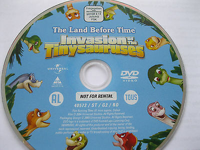 £1.85 • Buy The Land Before Time  - Invasion Of The Tinysauruses  {dvd}