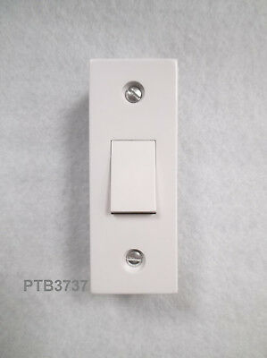 £6.48 • Buy ARCHITRAVE Light Switch 1 Gang (single) White Plastic 10A 1 Or 2way With Box