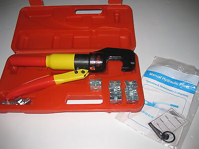 AU145 • Buy Hydraulic Crimper With Case CRIMPING TOOL BATTERY LUGS ANDERSON PLUGS