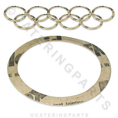10 X CIMBALI 400-238-010 PAPER GASKET SEALS GRUPPO CAPPUCCINO COFFEE MACHINES • 6£