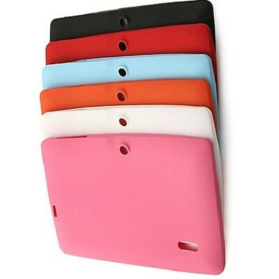 £2.98 • Buy 7  Inch Silicone Rubber Case For Android Tablet Allwinner A13 A23 A33 Q88 Gift