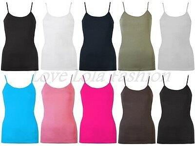 £16 • Buy Womens Vests Ladies Gym Vest Lined Bra Support Cami Tops Brody & Co Yoga Dance