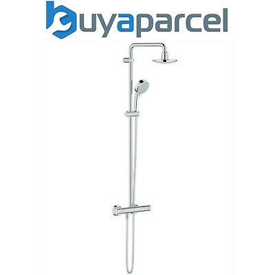 Grohe Tempesta Exposed Thermostatic Bar Mixer Shower Diverter Overhead Rose • 284.99£