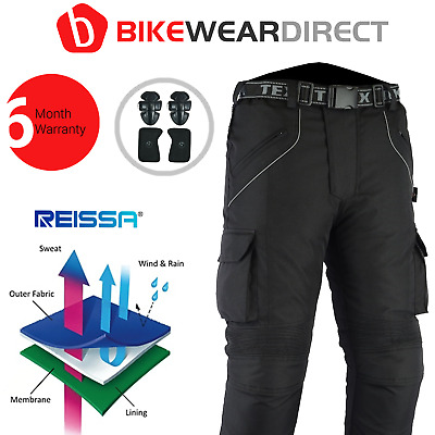 Motorcycle Motorbike Trousers Thermal Waterproof Pants CE Approved Biker Armour  • 49.99£