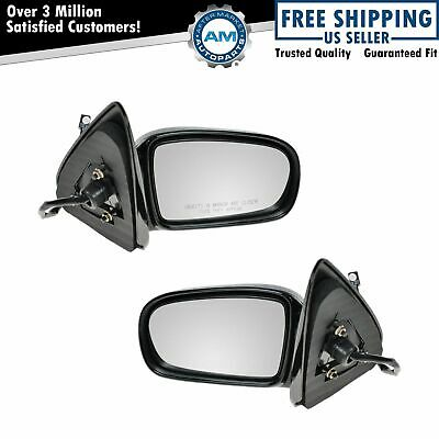 $80.72 • Buy Power Side View Mirrors Pair Set For 95-00 Cavalier Sunfire Convertible