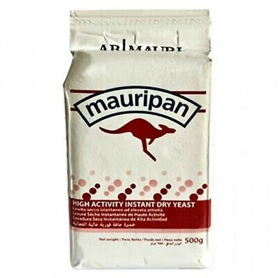 Mauripan 500g Instant Dried Yeast For Bread Bakers Bakery • 6.45£