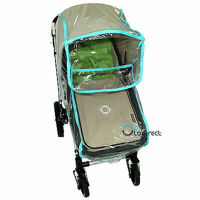 NEW BABY CHILD Black Pink Blue  PRAM  RAIN COVER Easy To Put On And Take Off! • 9.75£