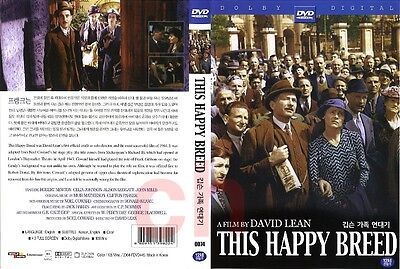 This Happy Breed (1944) - David Lean  DVD NEW • 3£