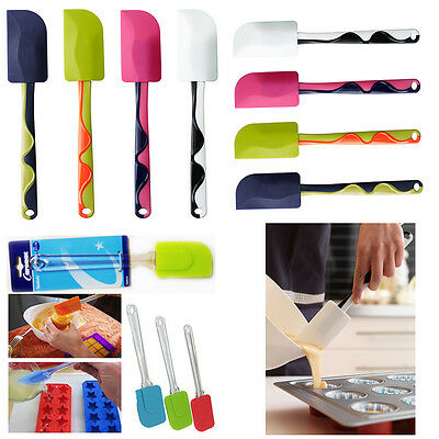 Silicone Spatula Pastry Brush Spoon Kitchen Utensil Cake Mixer Cooking Baking  • 3.99£