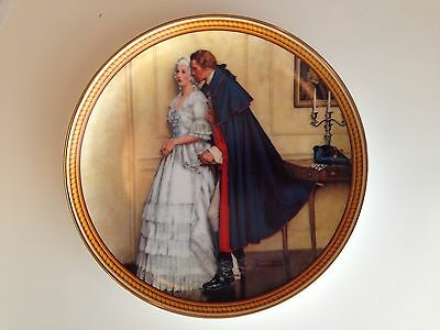$ CDN24.98 • Buy Norman Rockwell  The Unexpected Proposal  Vintage Plate Edwin M. Knowles China
