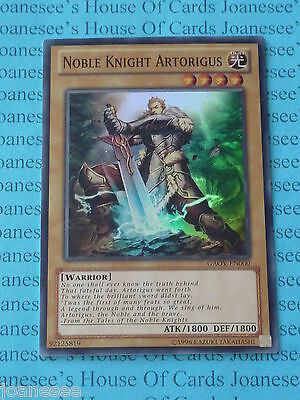 Yu-gi-oh Noble Knight Artorigus GAOV-EN000 Super Rare (U) New • 1.40£