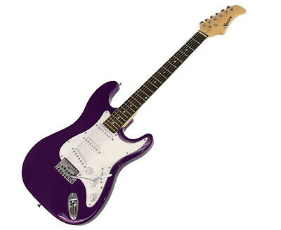 AU95 • Buy New Karrera Electric Guitar Music String Instrument Purple