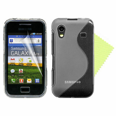 £11.60 • Buy 40 X SAMSUNG GALAXY ACE S5830 S-LINE GEL COVER CASE  JOB LOT PACK WHOLESALE