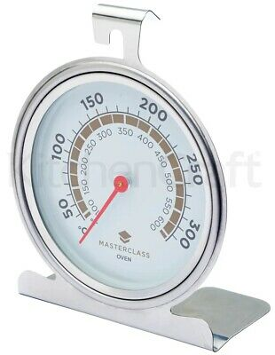 Master Class Large Stainless Steel Traditional Dial Oven Temperature Thermometer • 8.65£