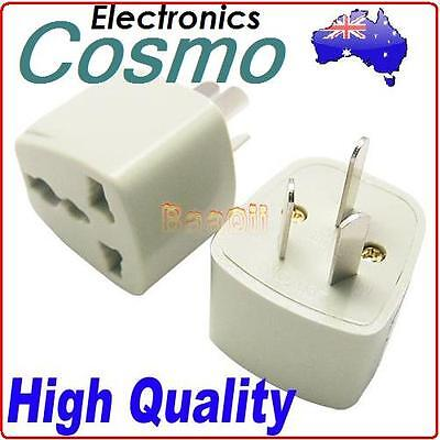 AU18.99 • Buy 10 X Lot UK/US/EU To AU AC Power Plug Adapter Travel 3 Pin Australia Convertor