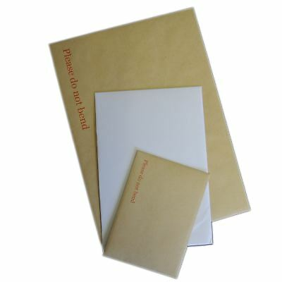 £2.90 • Buy C3 C4 C5 C6 Brown Manilla White Hard Board Backed Envelopes  Please Do Not Bend