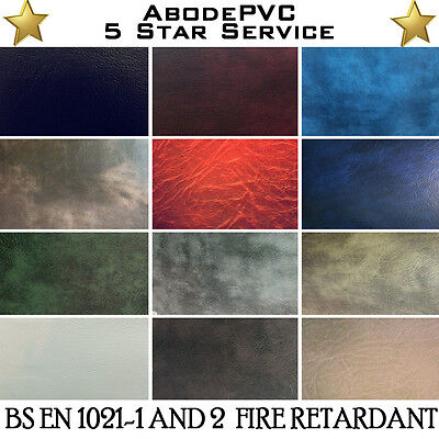 £0.99 • Buy  Premium Quality Leather Material Leatherette Pvc Vinyl Upholstery Fabric