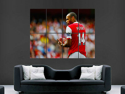 £17.99 • Buy Thierry Henry Classic Football Giant Wall Poster Art Picture Print Large Huge
